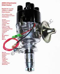 new 45d4 replacement electronic distributor for vehicles with