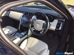 range rover dashboard 2017 land rover discovery price starts at rs 68 05 lakhs motorbeam