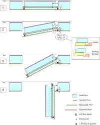 Bookcase Plans With Doors Door Bookshelf Steps With Pictures Door Plans In