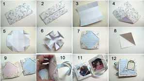 paper photo album paper folding mini album einat kessler