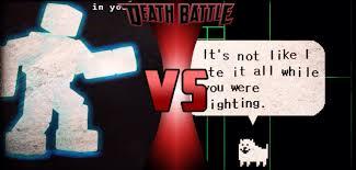 earthbound halloween hack story scott cawthon vs toby fox death battle fanon wiki fandom