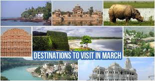 places to visit in march india best places to travel in march