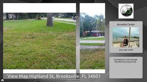 Brooksville Florida Map by View Map Highland St Brooksville Fl 34601 Youtube