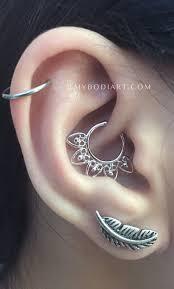 earpiercing earpiercingideas earpiercings daith helixpiercing