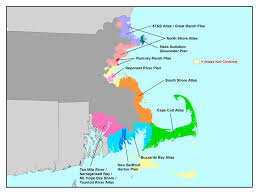 Map Of Eastern Massachusetts Restoration Planning