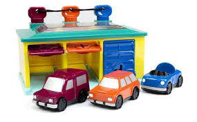 battat 3 car garage playset toys
