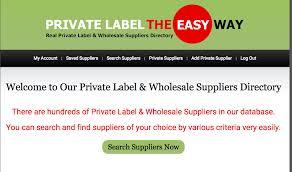 wholesale label supplier database