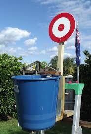 backyard play project ideas dunk bucket