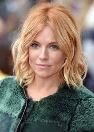 whatbhair texture does sienna miller have how to get sienna miller strawberry blonde hair strawberry