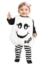 Ghost Halloween Costume Toddler Baby Boo Ghost Costume