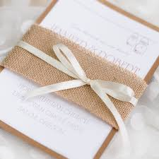 burlap wedding invitations affordable burlap wedding invitations at wedding invites