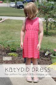 katydid dress for girls free knit sundress pattern imagine gnats