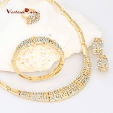 chunky necklace designs images Westernrain charms style gold plated jewelry chunky necklace sets jpg