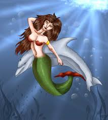 draw mermaid step step mermaids mythical beasts