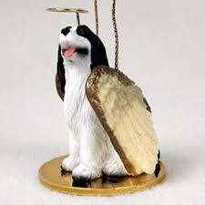 raining cats and dogs springer spaniel ornament