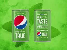 pepsi has launched a new green cola pepsi true business insider