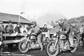 bsa gold star and the isdt speed track tales