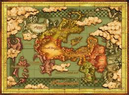 Dragon Age World Map by About The Map The Legend Of Dragoon Message Board For