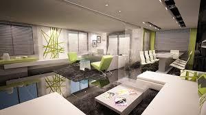 Ultra Modern Interior Office On Behance - Ultra modern interior design