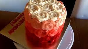 gourmet birthday cakes joyce gourmet ombré birthday cake happy