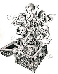 pandora u0027s box tattoo by lucky978 on deviantart inked