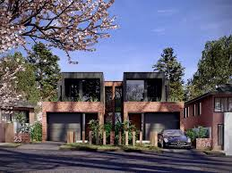 Triplex House Plans Ideas About Contemporary Home Plans On Pinterest House Homes And