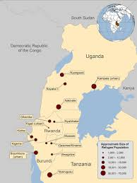 Republic Of Congo Map Population Movements Congolese Refugee Health Profile