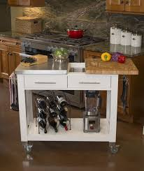 kitchen islands on casters chris chris pro chef butcher block stainless steel kitchen