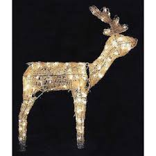 lb international animal reindeer outdoor decorations