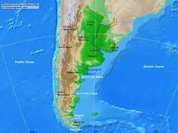 Cape Horn Map Argentina And Uruguay Physical Map A Learning Family