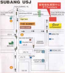 map usj 1 subang jaya usj map directory subang subang road subang