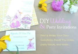 print your own wedding invitations wedding invites make your own design your own wedding invitations