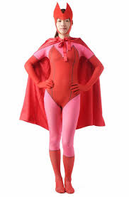 Red Witch Halloween Costume Aliexpress Buy Scarlet Witch Wanda Maximoff Cosplay Costume