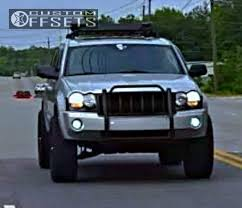 jeep commander black headlights 6463 2 2005 grand jeep leveling kit xd rockstar black