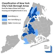 Nyu Map Report Analyzes New York City U0027s Gentrifying Neighborhoods And