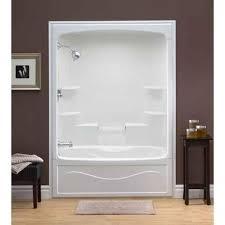 One Piece Bathtub Shower Units Best 25 One Piece Shower Stall Ideas On Pinterest Shower Stalls