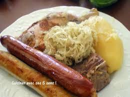 cuisiner choucroute choucroute avec viande mais sans porc cuisiner avec ses 5 sens