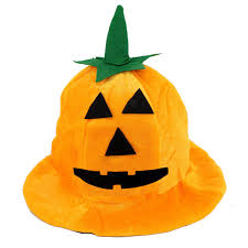 halloween party pumpkin hat orange color halloween hats