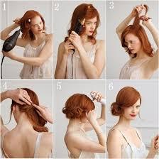 tutorial rambut video tutorial hair bun untuk rambut pendek 66