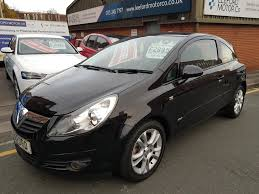 opel corsa 2007 used vauxhall corsa 2007 for sale motors co uk