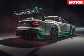 bentley sports car rear bentley continental gt3 race car revealed motor