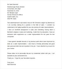 application letter latex template