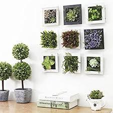 plante pour cuisine décoration maison moderne plantes artificielles brève murale