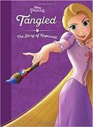 tangled story rapunzel disney princess disney press
