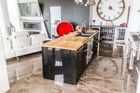 cuisine reno un magnifique plancher en époxy métallisé cuisine reno kitchen