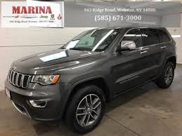 jeep cherokee gray 2017 used 2017 jeep grand cherokee limited for sale near rochester ny