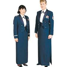 air force female mess dress uniform a line skirt mess dress