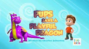 pups save playful dragon paw patrol wiki fandom powered wikia
