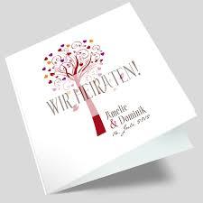 hochzeit einladung karte hochzeitseinladungskarte lebensbaum