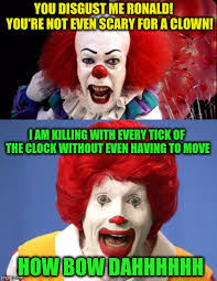 Ronald Meme - clown vs clown imgflip